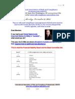 Risk Management Presentation November 12 2012