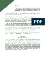 Readings (Civl Law Review)