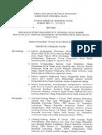 PER - 20.PJ.2012 Perubahan PER-05.PJ.2012 Tg Registrasi Ulang PKP Tahun 2012