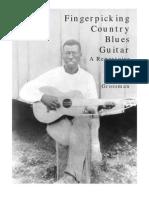 Fingerpicking country blues guitar