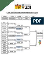 Fase Finale Campionato a Squadre Regionale 2012/2013