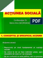 2. ACŢIUNEA SOCIALĂ