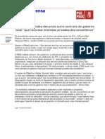 NOTA O PSdeG de Vilalba denuncia a adxudicación polo Concello de servizos médicos á empresa privada do tenente de alcalde