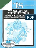 1999 07 ActJul99 ACTS WomenAsMinistersAndLeaders
