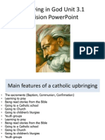 revision powerpoint on believing in god