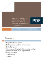 Lean Strategy Deployment