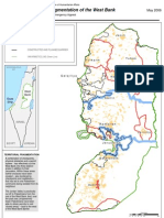 Map - Clean Map of Israel, Gaza, And West Bank