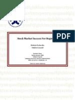 Stock market success for beginners (Stéphan laouadi Maksim Pecherskiy)