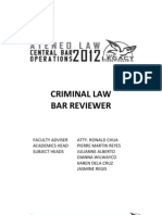 2012+Criminal+Law+Summer+Reviewer Book1 Final Printversion