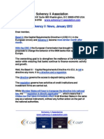 Solvency II News January 2012