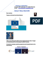 Solvency II News March 2012
