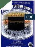 how to perform Umra by Shaykh Muhammad Saleem Dhorat