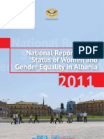 Albania - National Report-Status of Women and Gender Equality