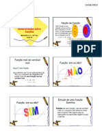 Aula 1,2,3 - Funcoes e Graficos - Generalidades Sobre Funcoes