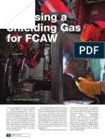 Choosing Shielding Gas Fcaw Wj0310-30