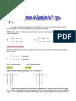 Sistema de Equacoes