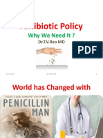 antibiotic policy = why we need it