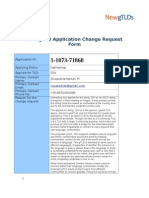 Request for Changes to the Nameshop gTLD Application Filed on 30 Sep 2012