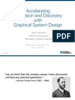 Accelerating innovation and discovery with Graphical System Design