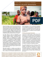 CARE Food Security Brief 2011 French