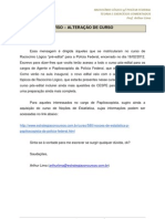 COMUNICADO - Raciocínio Lógico.Text.Marked