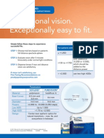 PureVision Multifocal Fitting Tips