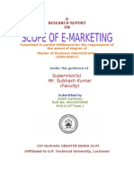 Scope of E-marketing.www