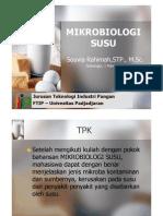 Mikrobiologi Susu