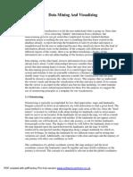 Datamining & Dvs