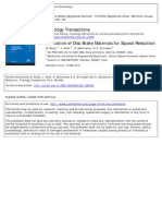 Evaluation of Disc Brake Materials for Squeal Reduction
