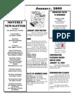 WDC Newsletter January 2009