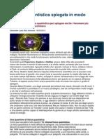 La Fisica Quantistica Spiegata in Modo Semplice