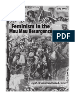 Feminism in the Mau Mau