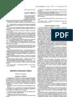 despacho normativo7 2013 06 11 Organização do ano letivo
