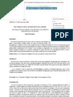 Revista Urbana - Do Código Civil ao Estatuto da Cidade algumas notas sobre a trajetória do Direito Urbanístico no Brasil