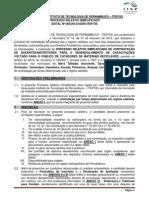 Edital Contratacao de Instrutores RECICLA PE 16052013