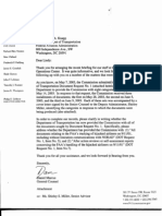 SD B5 Dept of Transportation Fdr- Commission Request for FAA Cerfitication of Doc Production and FAA Doc Indexes