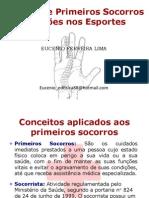 Noções de Primeiros Socorros  e Lesões nos Esportes.pptx