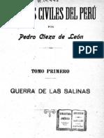 La guerra civil de los conquistadores I La guerra de las Salinas Cieza de Leon.pdf