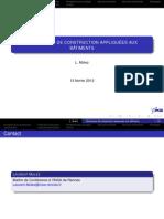 GCU06-43- Technologie de construction appliquée aux bâtiments