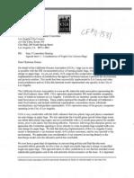 CGA Letter to LA City Council