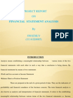 Financial Statment Analysis.