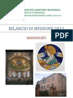 Azienda Usl Di Ravenna- Bilancio Di Missione 2011