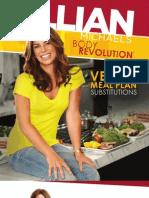 Jillian Vegan Meal Plan