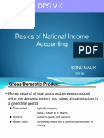 National income accounting - 1