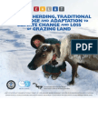 Reindeer Herding, Traditional Knowledge, & Adaptation to Climate Change & Loss of Grazing Land