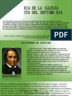 Historia de La Iglesia Adventista Del Septimo Dia