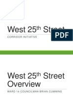West 25th Street Corridor Initiative - MetroHealth Presentation