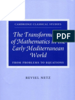 The Transformation of Mathematics in the Early Mediterranean World