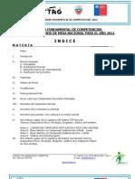 Regulador Fundamental Competencia 2012